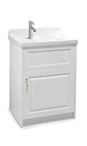 modern laundry room sinks | sink ALEXANDER 24″ WHITE Utility Sink – Modern Mop Slop ...